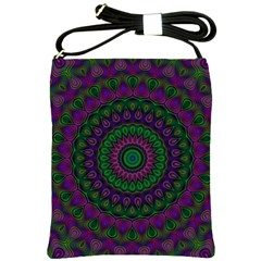 Mandala Shoulder Sling Bag