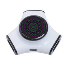 Mandala 3 Port USB Hub