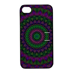 Mandala Apple iPhone 4/4S Hardshell Case with Stand