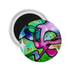 Graffity 2.25  Button Magnet