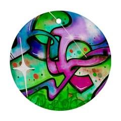 Graffity Round Ornament