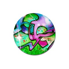 Graffity Magnet 3  (round)