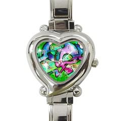 Graffity Heart Italian Charm Watch
