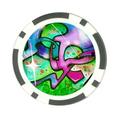 Graffity Poker Chip (10 Pack)