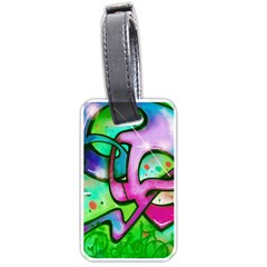 Graffity Luggage Tag (Two Sides)