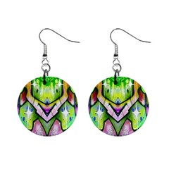 Graffity Mini Button Earrings