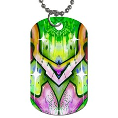 Graffity Dog Tag (One Sided)