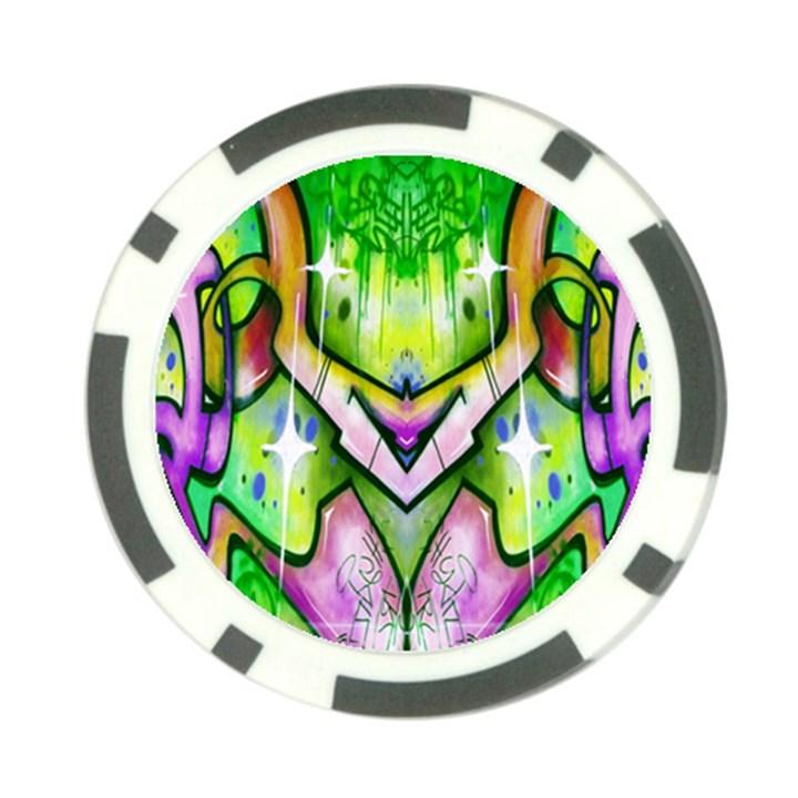 Graffity Poker Chip (10 Pack)
