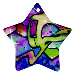 Graffity Star Ornament