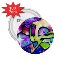 Graffity 2.25  Button (100 pack)