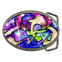 Graffity Belt Buckle (Oval)
