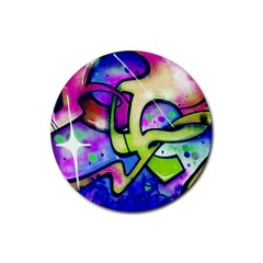 Graffity Drink Coasters 4 Pack (Round)