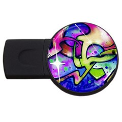 Graffity 2GB USB Flash Drive (Round)