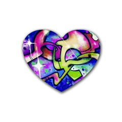 Graffity Drink Coasters 4 Pack (heart)