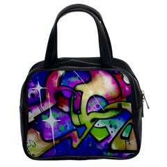 Graffity Classic Handbag (Two Sides)