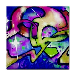 Graffity Face Towel