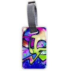 Graffity Luggage Tag (one Side)