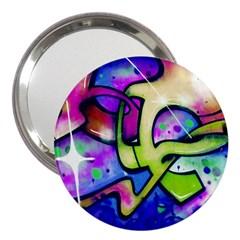 Graffity 3  Handbag Mirror