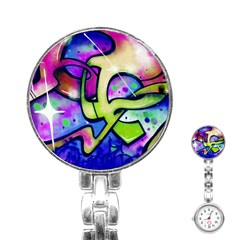 Graffity Stainless Steel Nurses Watch