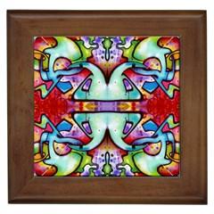 Graffity Framed Ceramic Tile
