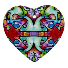 Graffity Heart Ornament