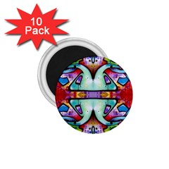 Graffity 1 75  Button Magnet (10 Pack)