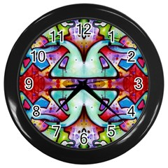 Graffity Wall Clock (Black)