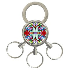 Graffity 3-Ring Key Chain