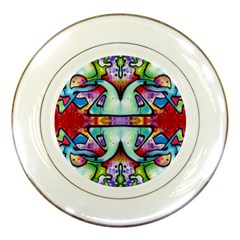 Graffity Porcelain Display Plate