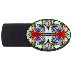 Graffity 4GB USB Flash Drive (Oval)