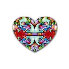 Graffity Drink Coasters (heart)