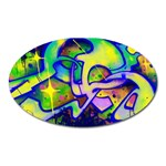 Graffity Magnet (Oval) Front