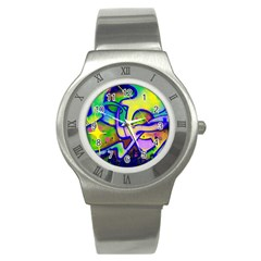 Graffity Stainless Steel Watch (slim)