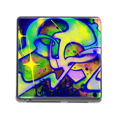 Graffity Memory Card Reader with Storage (Square)