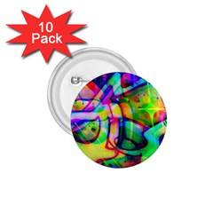 Graffity 1 75  Button (10 Pack)