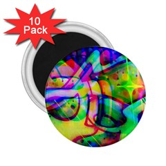 Graffity 2.25  Button Magnet (10 pack)