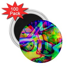 Graffity 2.25  Button Magnet (100 pack)
