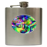 Graffity Hip Flask Front