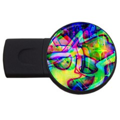 Graffity 4GB USB Flash Drive (Round)