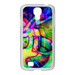 Graffity Samsung GALAXY S4 I9500/ I9505 Case (White)