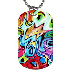 Graffity Dog Tag (two Sided)
