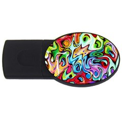 Graffity 1GB USB Flash Drive (Oval)
