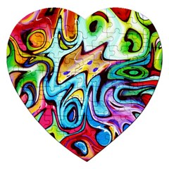 Graffity Jigsaw Puzzle (heart)