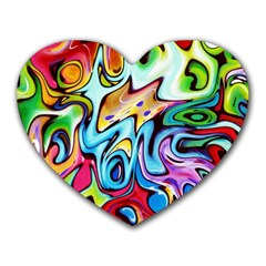Graffity Mouse Pad (Heart)