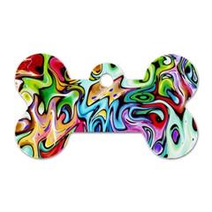 Graffity Dog Tag Bone (Two Sided)