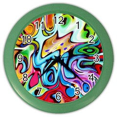 Graffity Wall Clock (color)