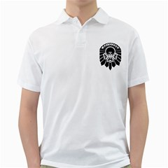 Madafakka Copia Mens  Polo Shirt (white)