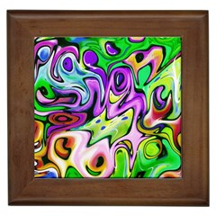 Graffity Framed Ceramic Tile