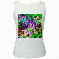 Graffity Womens  Tank Top (white)