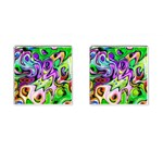 Graffity Cufflinks (Square) Front